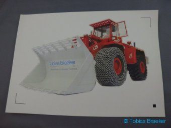 Aufkleber Radlader O&K L25 | Sticker wheel loader